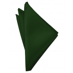 Hunter Solid Satin Pocket Square