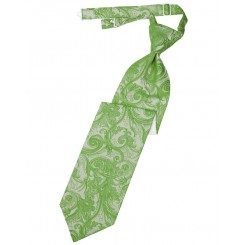 Clover Tapestry Long Tie
