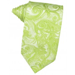 Lime Tapestry Suit Tie