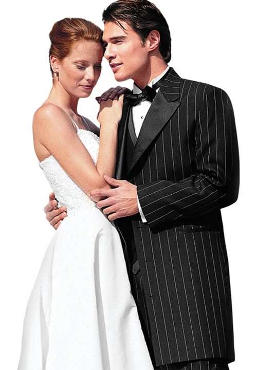 Striped Zoot Suit Tuxedo National Tuxedo Rentals