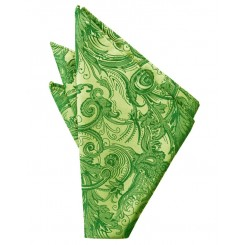 Clover Tapestry Pocket Square