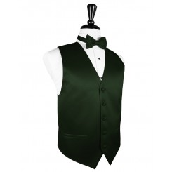 Holly Solid Satin Vest