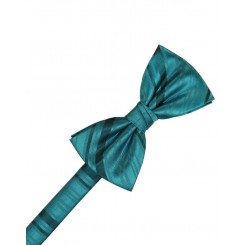 Oasis Striped Satin Bowtie