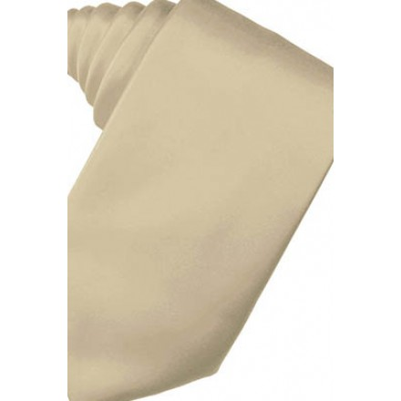 Bamboo Solid Satin Suit Tie