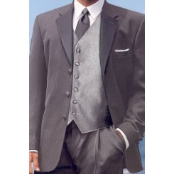 'Barrington' Charcoal Tuxedo Jacket by CHAPS Ralph Lauren