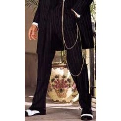 Zoot Suit Striped Pants
