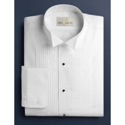 SLIMFIT Wingtip Pleated Tuxedo Shirt