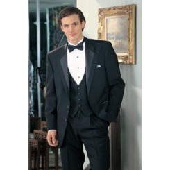 'Bridge' 2-Button Notch Tuxedo Jacket by Perry Ellis