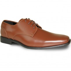 'Cognac' Brown Formal Dress Shoes