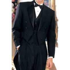 Notch Tailcoat' Notch Full Dress Tailcoat from our Private Label