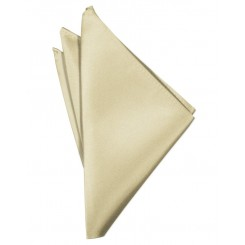 Bamboo Solid Satin Pocket Square