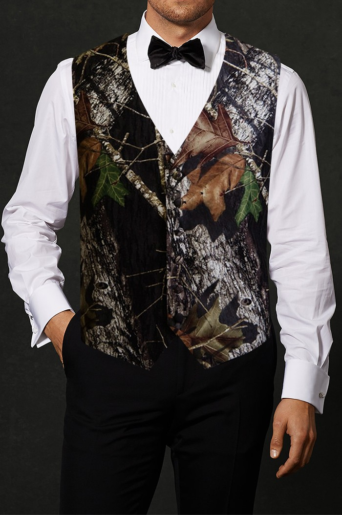 2a27b44286a09 Country Camouflage Tuxedo Vest | Rental | Tuxedo Vest