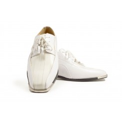 The American - White Fashion Tuxedo Shoe