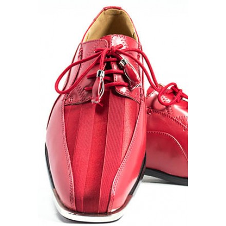 The American - Red Fashion Tuxedo Shoe