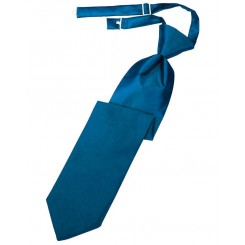 Pacific Solid Satin Long Tie