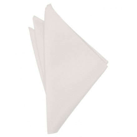 Angel Pink Solid Satin Pocket Square