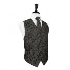 Charcoal Tapestry Vest