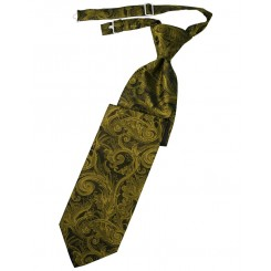 New Gold Tapestry Long Tie