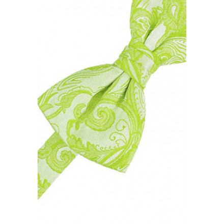 Lime Tapestry Bowtie