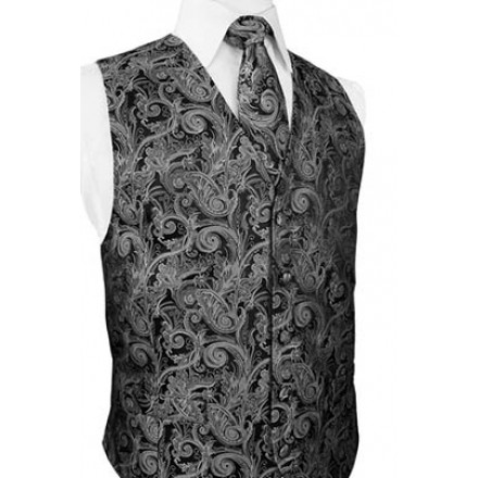 Silver Tapestry Vest