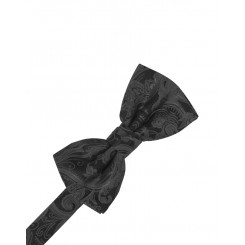 Pewter Tapestry Bowtie