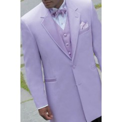 'Montigo' 2-Button Notch Lavender Colored Tuxedo Jacket