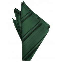 Holly Striped Satin Pocket Square