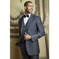 Charcoal Grey Tuxedo Jacket | Infinity by Cardi
