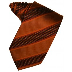 Autumn Venetian Stripe Suit Tie