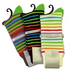 Multi-Color Stripes Sock Collection by David Tetura