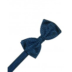 Royal Blue Venetian Bowtie