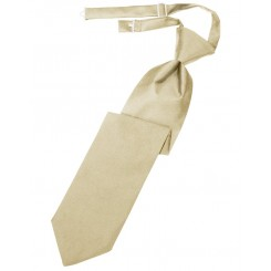 Bamboo Solid Satin Long Tie