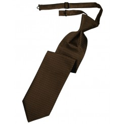 Chocolate Palermo Long Tie