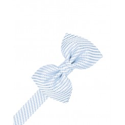 Powder Blue Venetian Bowtie