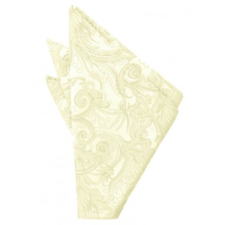 Canary Tapestry Pocket Square