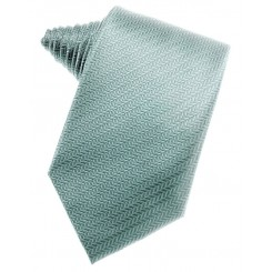 Cloudy Herringbone Suit Tie