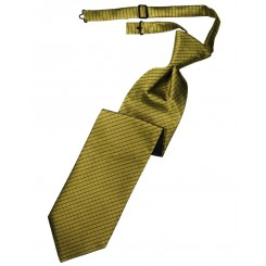 Gold Palermo Long Tie