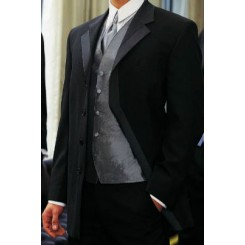 Vertigo' Fly Front Notch Tuxedo Jacket by Claiborne 2.0