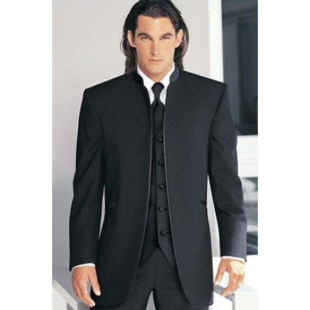 superior materials new cheap quality products Mirage' Tuxedo Jacket in Black by Jean Yves