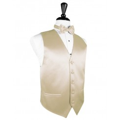 Bamboo Solid Satin Vest