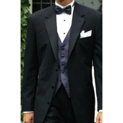 Starwood' Pinstriped Tuxedo Jacket by Ralph Lauren