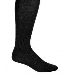 Black Formal Dress Socks