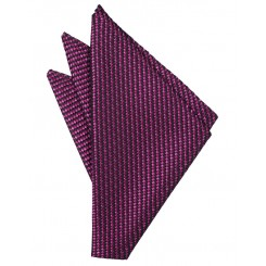 Fuchsia Venetian Pocket Square