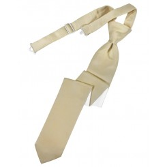 Bamboo Solid Satin Skinny Tie