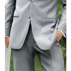 'Madison' Grey Tuxedo Pants