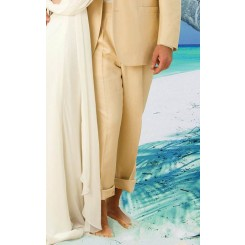 Tan Destination Suit Pants