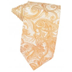 Apricot Tapestry Suit Tie