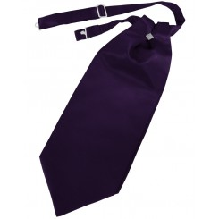 Amethyst Solid Satin Cravat