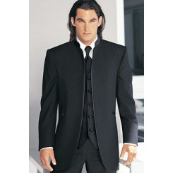 Mirage' Tuxedo Jacket in Black by Jean Yves