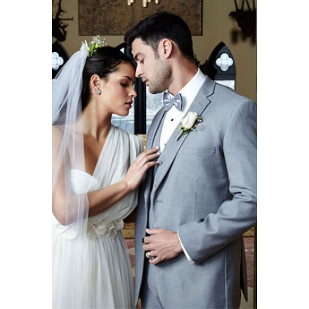 'Infinity' Heather Grey Tuxedo Jacket by Cardi